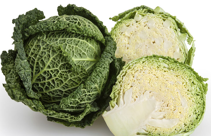 Green Cabbage: TOP 10 ANTI AGING VEGETABLES