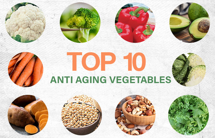 Photo of Top 10 Anti-Aging Vegetables in the world