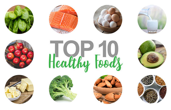 TOP 10 HEALTHY FOODS in the world