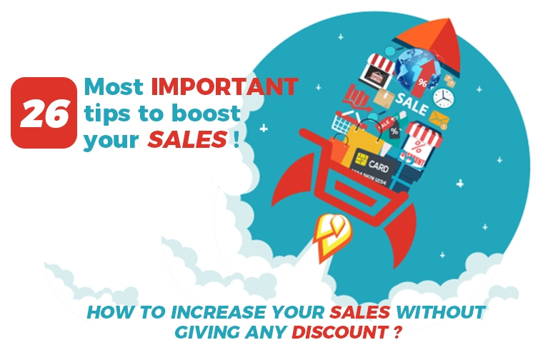 26 Most important tips to boost your sales!