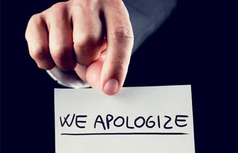 Customer complaints: Acknowledge the Problem and Apologize