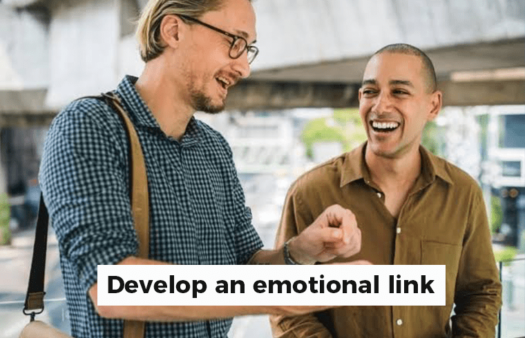 26 Most important tips to boost your sales: Develop an emotional link