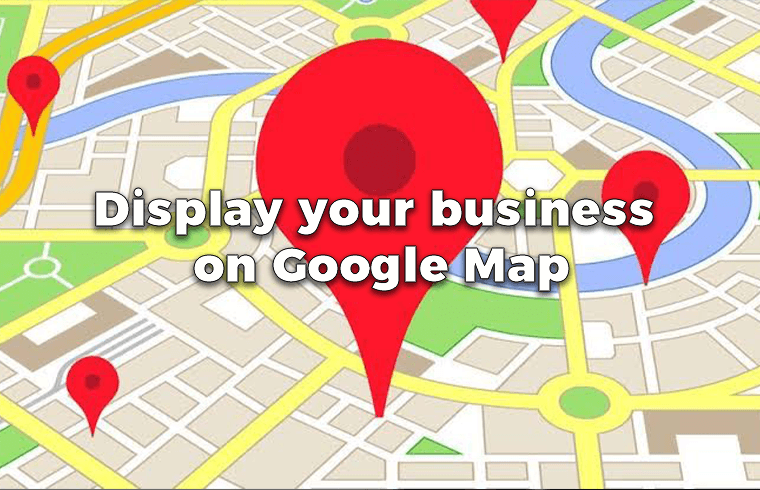 Display your business on Google Map