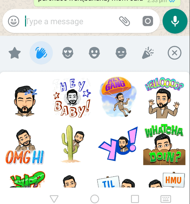 Photo of How to use Bitmoji on WhatsApp for Android?