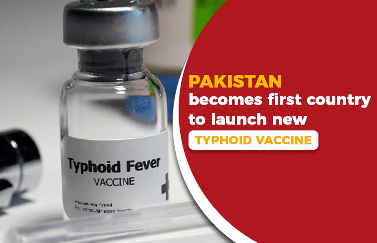 Photo of Pakistan becomes first country to launch new typhoid vaccine