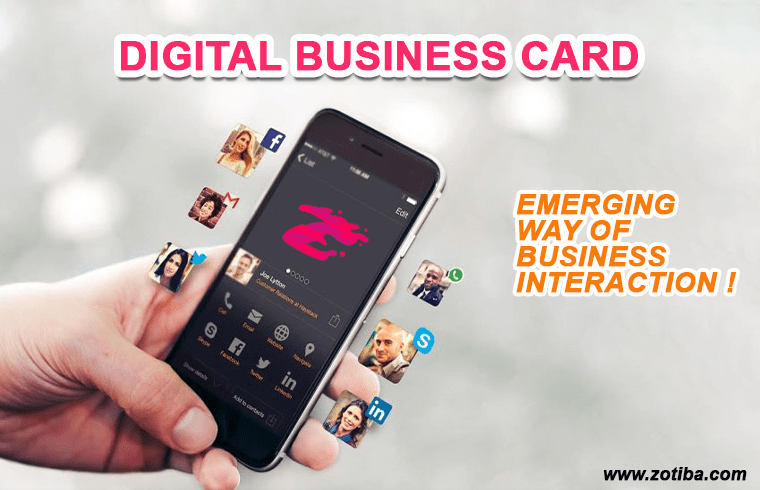 Photo of Digital Business Card – An Emerging Way of Business Interaction !